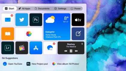 Windows 10 von Apple