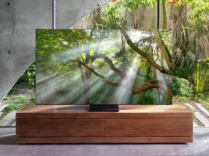 Samsung: Rahmenloser 8K-QLED-TV