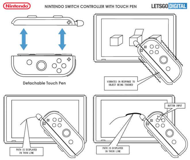 Nintendo Switch Joy-Con-Touchpen