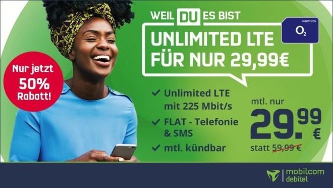 O2 Free Unlimited-Tarife