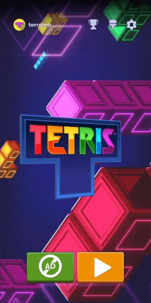 Tetris für Android von N3twork