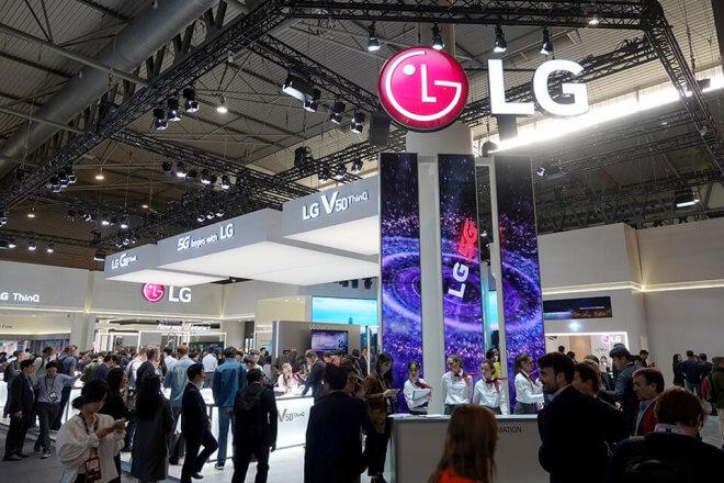 LG Stand MWC 2019