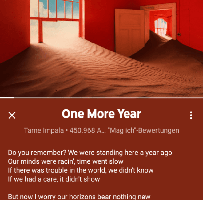 YouTube-App Lyrics