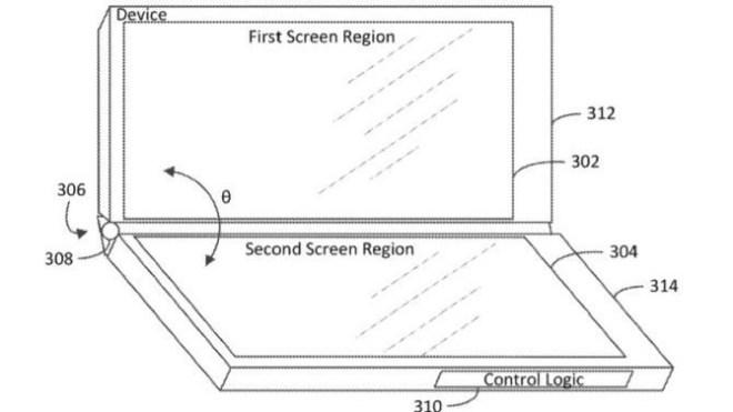 Surface Phone mit drei Displays
