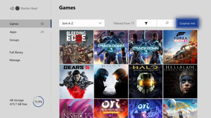Xbox One April 2020 Update