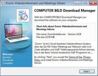 Zoom Fake-Installer