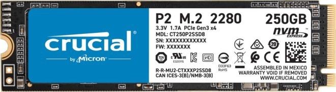 Crucial P2 PCIe M.2