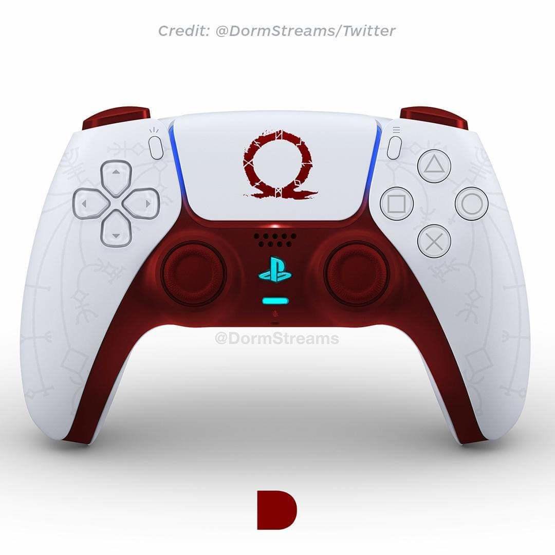 PlayStation 5: DualSense-Fan-Designs