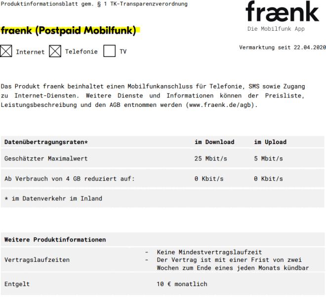 Deutsche Telekom Fraenk