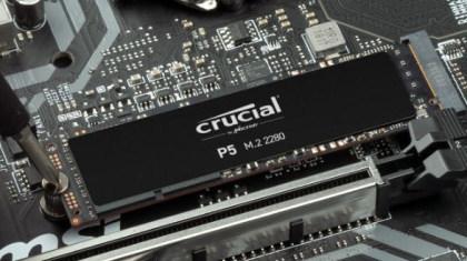 Crucial P5 M.2-SSD