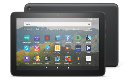 Amazon Fire HD 8, Fire HD 8 Plus & Fire HD 8 Kids Edition