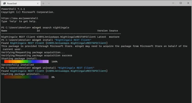Windows Package Manager Preview