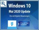 Windows 10 Mai 2020 Update: Die wichtigsten Neuerungen
