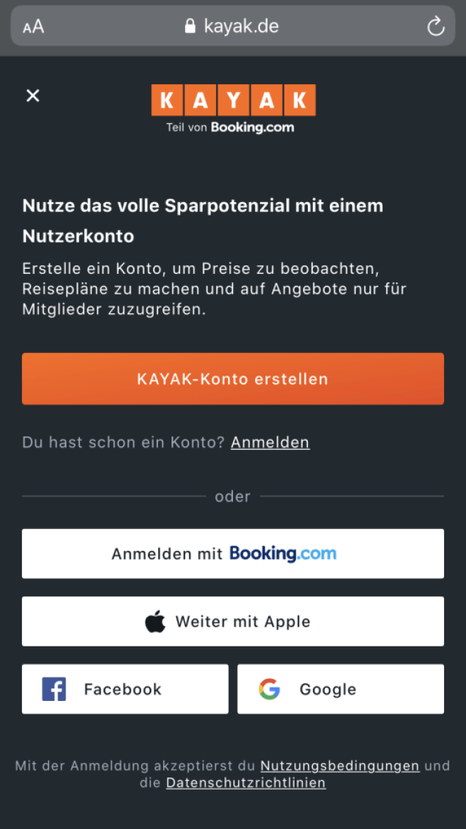 Sign-in with Apple