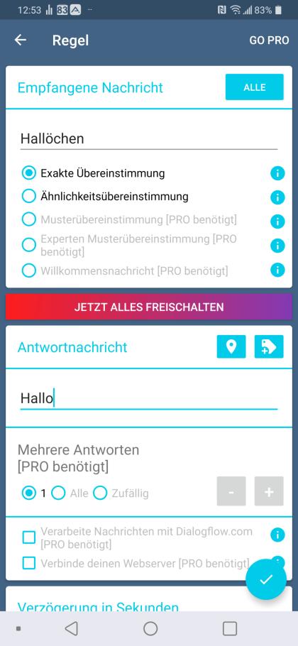 AutoResponder für Telegram