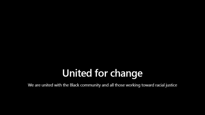Microsoft Change / Black Lives Matter