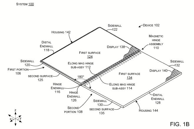 Microsoft modulares Dual-Screen-Gerät