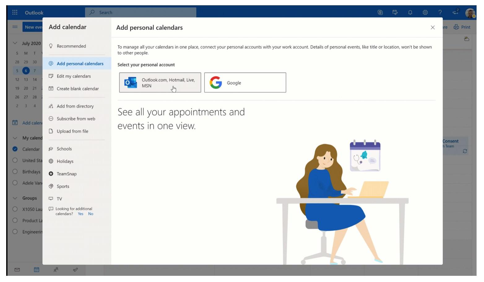 Neue Outlook-Funktionen Juli 2020