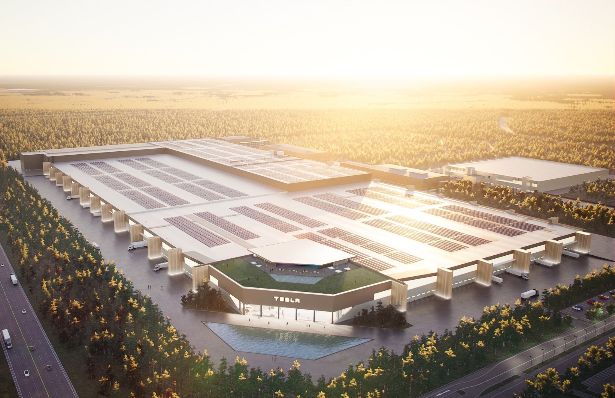 Tesla: Gigafactory Grünheide