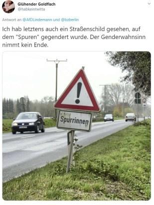 Fahrspurende