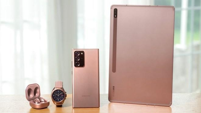 Samsung Galaxy-Familie 2020