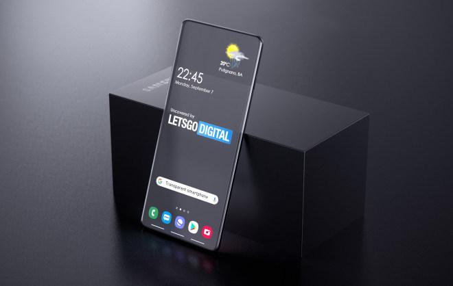 Samsung: Transparentes Display (Patent)