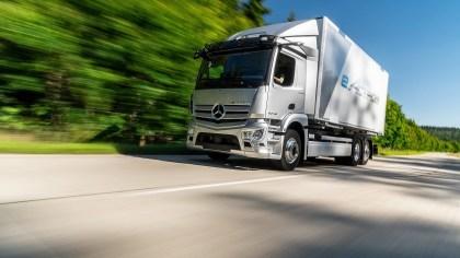 Daimler: Elektro-LKW