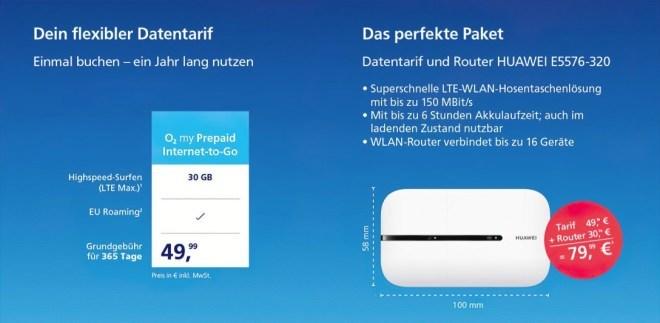 o2 Internet to Go