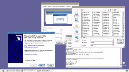 Windows XP Candy UI