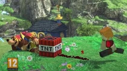 Super Smash Bros. Ultimate: Minecraft-Charaktere