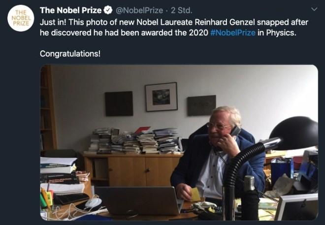 Physik-Nobelpreis 2020