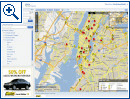 Google Maps und Yahoo Maps Traffic