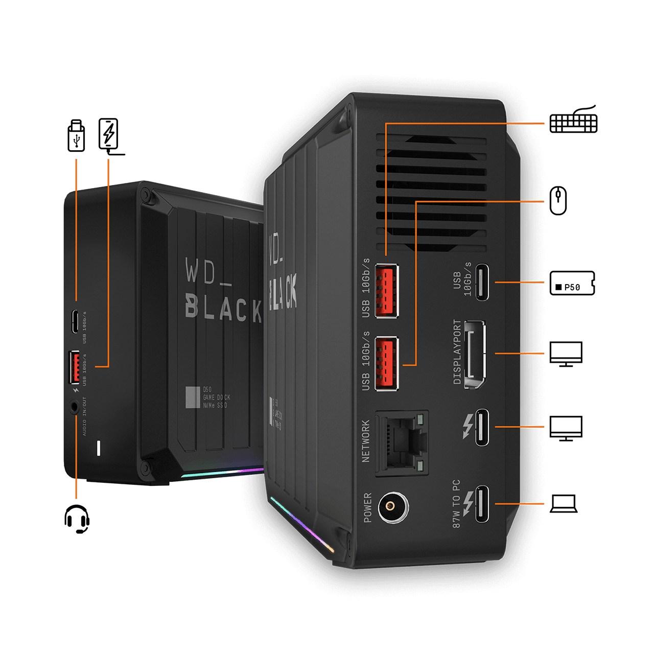 WD_Black NVMe SSD-Produkte (2020)