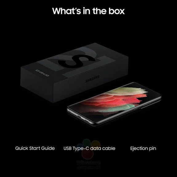 Samsung Galaxy S21 Ultra sem carregador