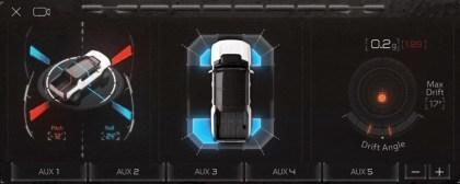 Hummer EV In-Car-System
