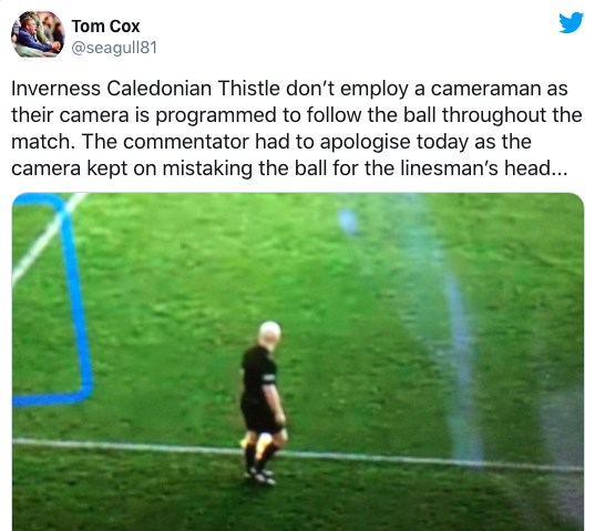 Kamera-KI: Linienrichterstatt Ball