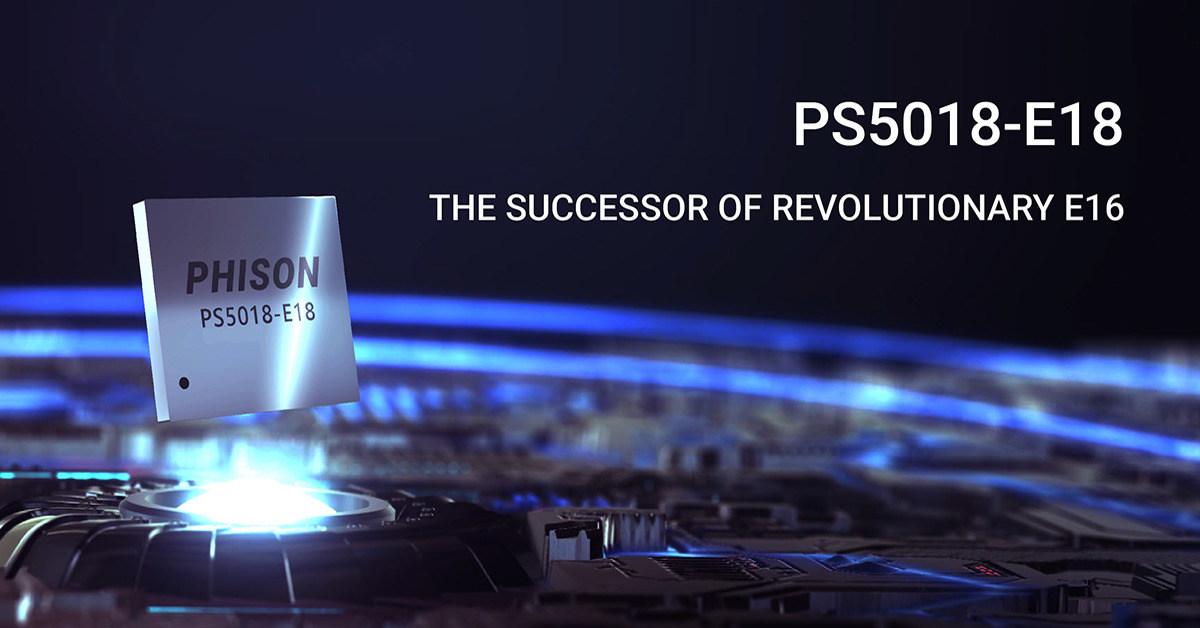 Phison E18 SSD-Controller