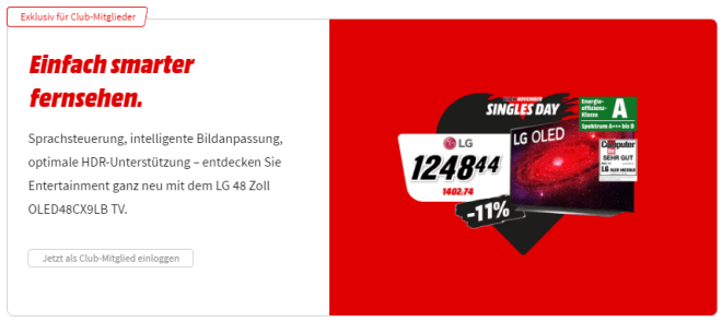 Media Markt & Saturn - Singles Day 2020
