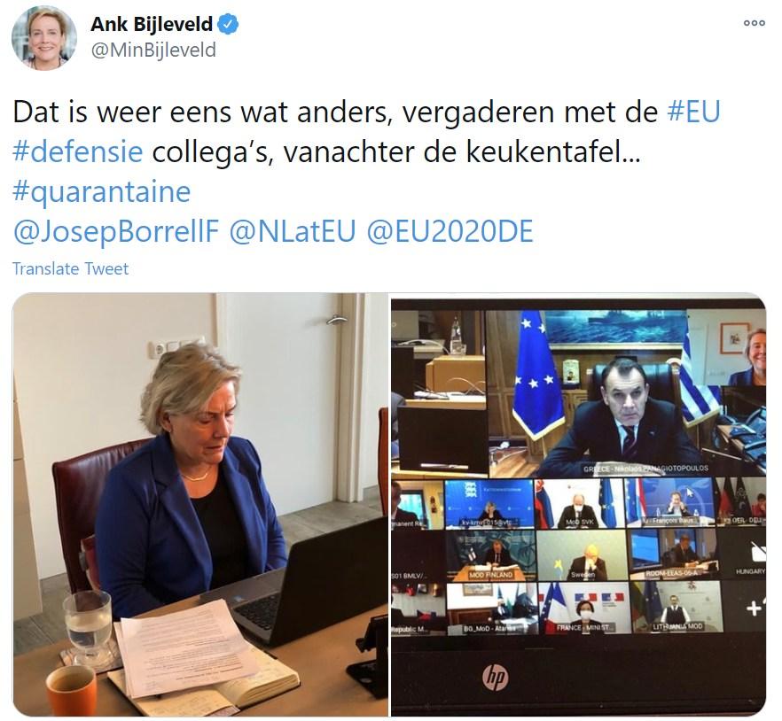 Videokonferenz der EU-Verteidigungsminister gesprengt