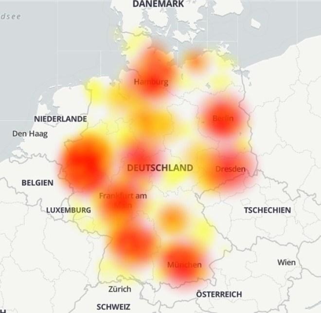 Vodafone Störung 23.11.2020