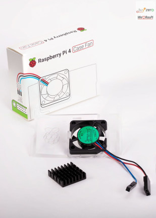 Raspberry Pi 4 Case Fan Kit