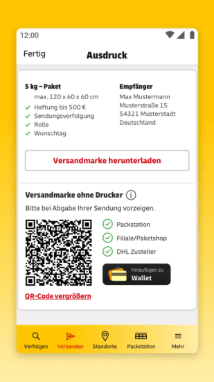 Post & DHL App