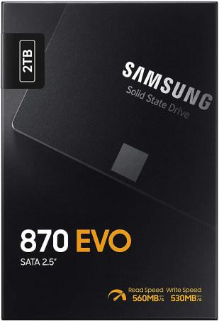 Samsung 870 EVO SSD