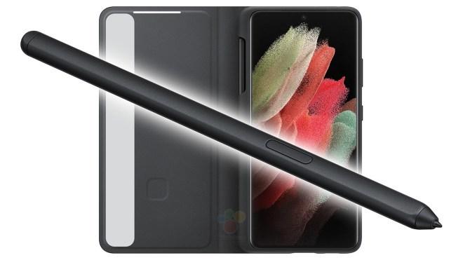 Se filtra el nuevo S-Pen del Samsung Galaxy S21 Ultra