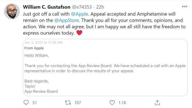 Apple Amphetamine App