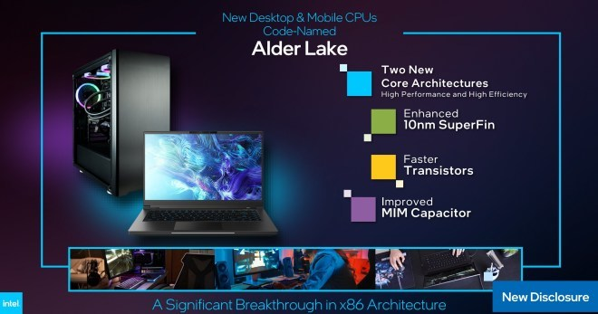 "Intel Core 12th Gen ""Alder Lake"""