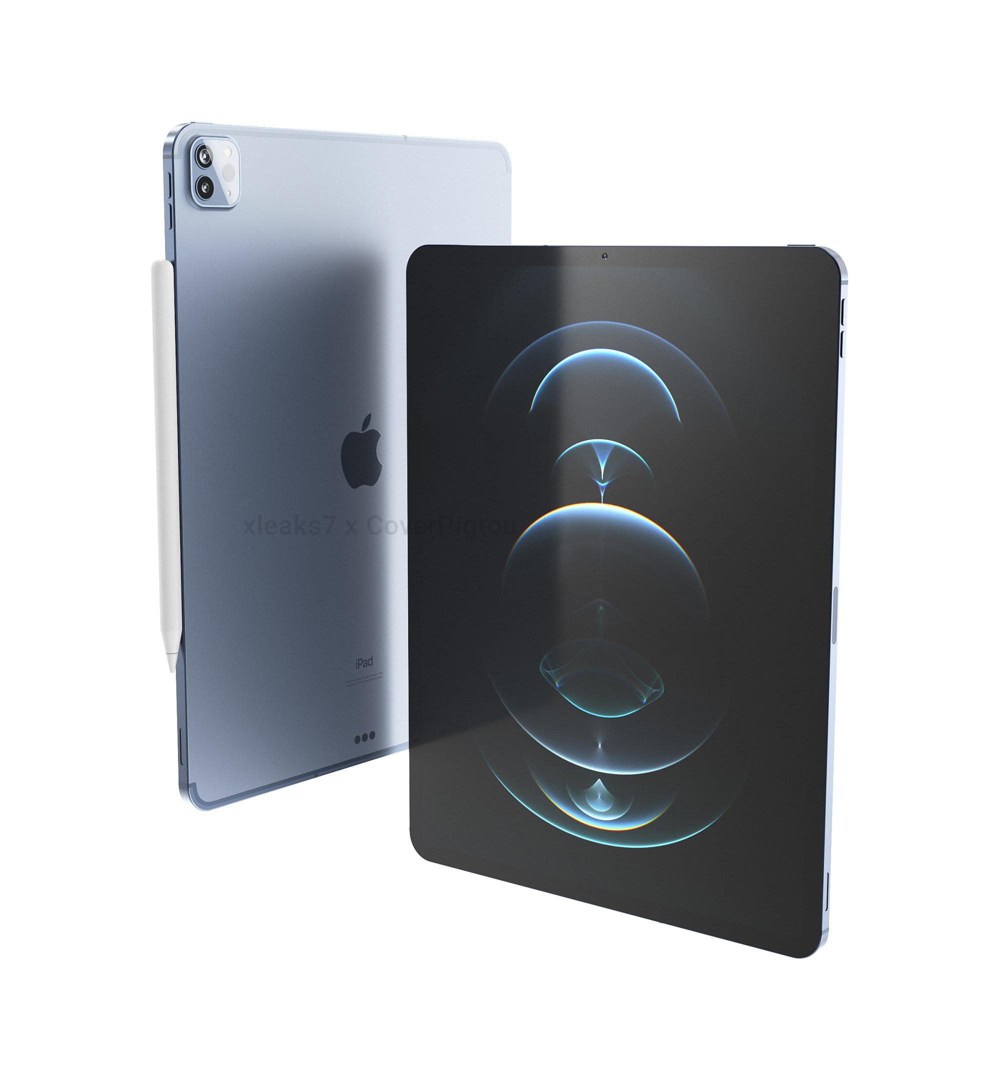 Apple iPad Pro 20 So soll das neue Tablet Flaggschiff aussehen ...