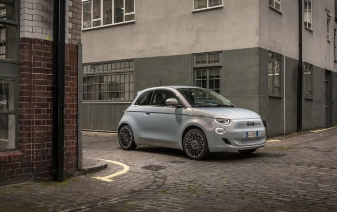 Der neue elektrische Fiat 500