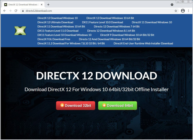 DirectX 12 Malware