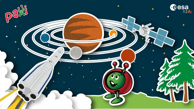 Juice Up Your Rocket! Kunstwettbewerb der ESA